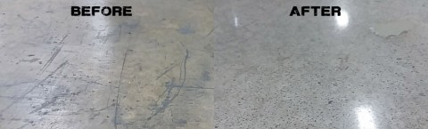 FOR A LIMITED TIME 1000+ sq.ft.- $2.97 per sq.ft.- Natural Wonder Polished Concrete