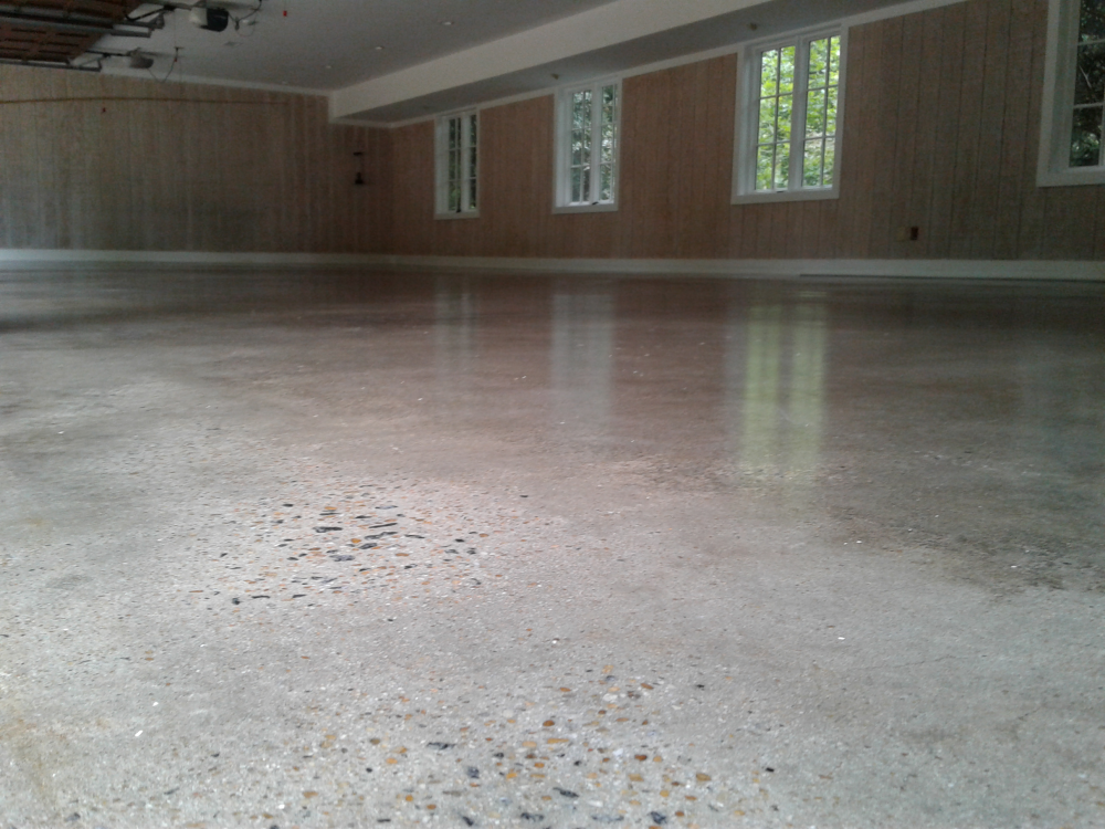 Residential concrete floors in atlanta area for Residential concrete floor wax