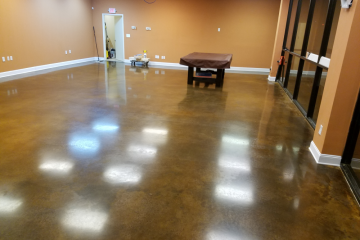 polished concrete firehouse vapes in ga