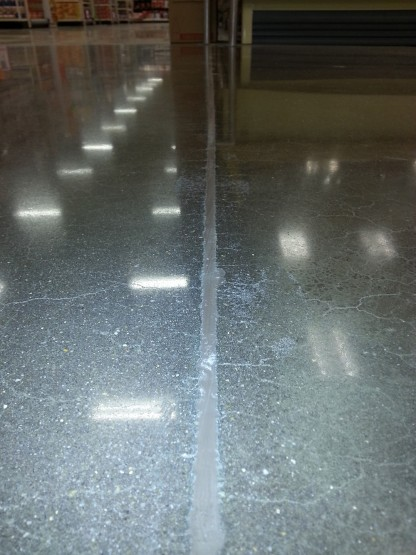 Concrete joint meterial eplacement Atlanta Retail 4