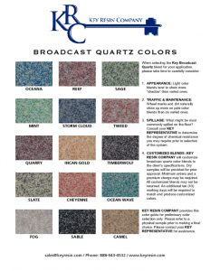 thumbnail of quartz-color-chart-broadcast-systems