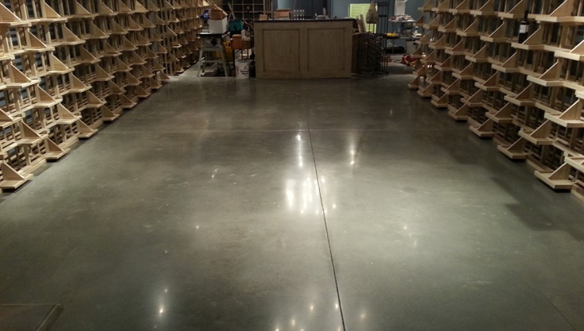 wine-cellar-polished-concrete-floor-Atlanta-GA2