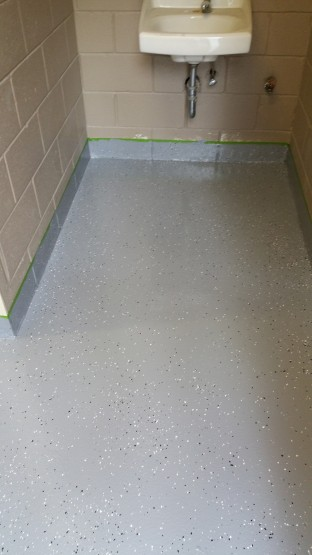 Epoxy System floor blackburn park Atlanta GA