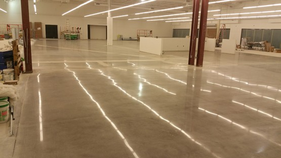 Grind and Polished concrete floor Orlando outlet
